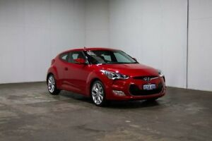 2014 Hyundai Veloster FS2 Coupe Red 6 Speed Manual Hatchback Welshpool Canning Area Preview
