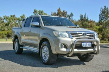 2012 Toyota Hilux KUN26R MY12 SR5 Double Cab Gold 4 Speed Automatic Utility Wilson Canning Area Preview