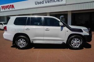 2011 Toyota Landcruiser VDJ200R MY10 GXL White 6 Speed Sports Automatic Wagon Westminster Stirling Area Preview
