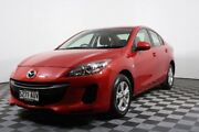 2012 Mazda 3 BL10F2 Neo Red 6 Speed Manual Sedan Edwardstown Marion Area Preview