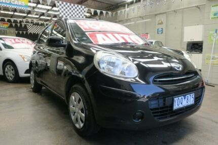 2011 Nissan Micra K13 ST 4 Speed Automatic Hatchback Mordialloc Kingston Area Preview