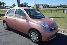 2010 Nissan Micra  Pink Automatic Mount Pleasant Mackay City Preview