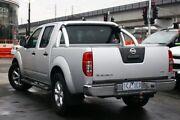 2014 Nissan Navara D40 S8 ST-X King Cab Silver 5 Speed Automatic Utility Frankston Frankston Area Preview