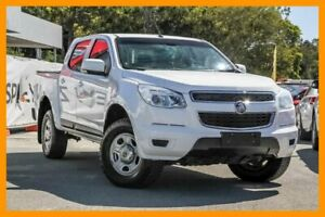 2014 Holden Colorado RG MY15 LS Crew Cab 4x2 Summit White 6 Speed Sports Automatic Cab Chassis Aspley Brisbane North East Preview