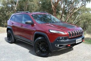 2014 Jeep Cherokee KL Trailhawk Red 9 Speed Sports Automatic Wagon St Marys Mitcham Area Preview