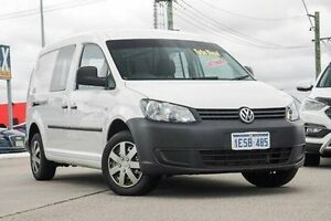 2011 Volkswagen Caddy 2KN MY11 TDI320 Maxi DSG White 6 Speed Sports Automatic Dual Clutch Van Bellevue Swan Area Preview