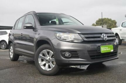 2012 Volkswagen Tiguan 5N MY12.5 132TSI 4MOTION Pacific Grey 6 Speed Manual Wagon Hillcrest Port Adelaide Area Preview