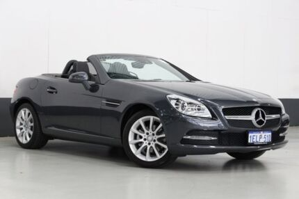 2014 Mercedes-Benz SLK R172 MY14 Upgrade 200 Grey 7 Speed Automatic G-Tronic Convertible Bentley Canning Area Preview