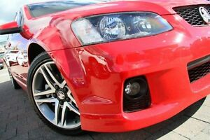 2011 Holden Commodore VE II SV6 Red 6 Speed Automatic Sedan Waitara Hornsby Area Preview
