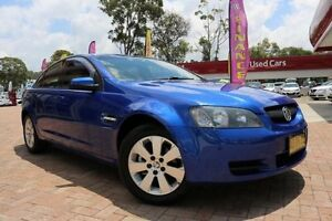 2006 Holden Commodore VE Omega Blue 4 Speed Automatic Sedan Campbelltown Campbelltown Area Preview