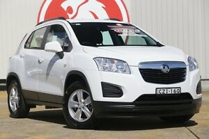 2015 Holden Trax TJ MY15 LS White 5 Speed Manual Wagon Lansvale Liverpool Area Preview