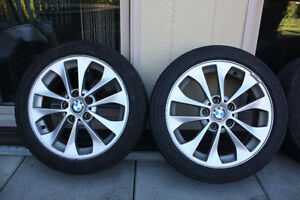 BMW330XI tires with rims