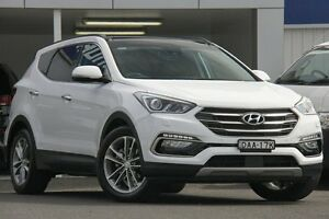 2015 Hyundai Santa Fe DM MY15 Highlander CRDi (4x4) Creamy White 6 Speed Automatic Wagon Wolli Creek Rockdale Area Preview