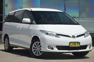 2012 Toyota Tarago ACR50R MY13 GLi White 7 Speed CVT Auto Sequential Wagon Old Guildford Fairfield Area Preview