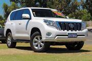 2015 Toyota Landcruiser Prado GDJ150R GXL White 6 Speed Sports Automatic Wagon Wangara Wanneroo Area Preview