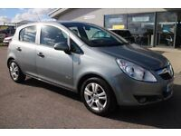 VAUXHALL CORSA 1.0 ENERGY ECOFLEX 5d 64 BHP - VIEW 360 SPIN ON WE (silver) 2010
