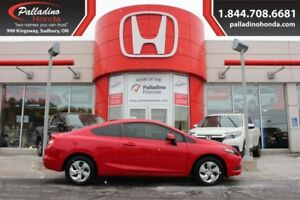 2013 Honda Civic Cpe LX - RELIABLE AND FUEL EFFICIENT -
