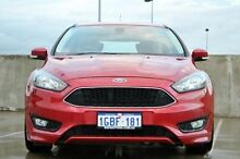 2015 Ford Focus LZ Sport Red 6 Speed Manual Hatchback Midland Swan Area Preview