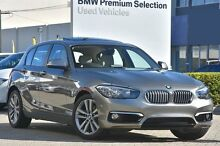 2016 BMW 120I F20 LCI Urban Line Steptronic Silver 8 Speed Sports Automatic Hatchback Victoria Park Victoria Park Area Preview