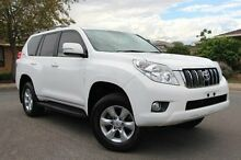 2012 Toyota Landcruiser Prado KDJ150R GXL White 5 Speed Sports Automatic Wagon Nailsworth Prospect Area Preview