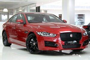 2016 Jaguar XE 25t R-SPORT 25T R-Sport Red 8 Speed Automatic Sedan Petersham Marrickville Area Preview