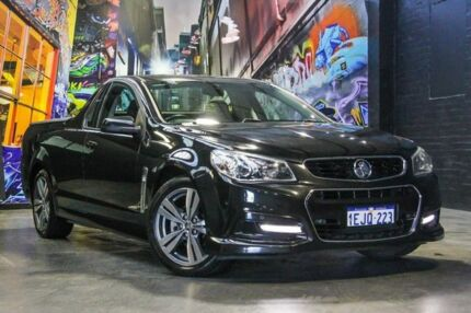 2013 Holden Ute VF MY14 SV6 Ute Black 6 Speed Manual Utility