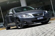 2012 Lexus IS250 GSE20R MY11 X Grey 6 Speed Sports Automatic Sedan St James Victoria Park Area Preview