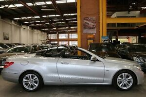 2011 Mercedes-Benz E250 CGI A207 Elegance Silver 5 Speed Sports Automatic Cabriolet Southbank Melbourne City Preview