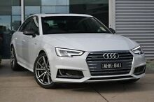 2016 Audi A4 B9 F4 MY16 Sport S tronic quattro White 7 Speed Sports Automatic Dual Clutch Sedan Burwood Whitehorse Area Preview