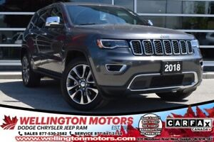 2018 Jeep Grand Cherokee Limited / Almost Full Remaining Warrant