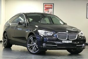 2010 BMW 550i F07 MY10 Gran Turismo Steptronic Black 8 Speed Sports Automatic Hatchback North Willoughby Willoughby Area Preview