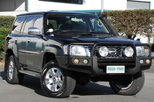 2011 Nissan Patrol GU 7 MY10 ST Black 5 Speed Manual Wagon Acacia Ridge Brisbane South West Preview
