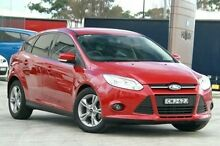 2013 Ford Focus LW MKII Trend PwrShift Red 6 Speed Sports Automatic Dual Clutch Hatchback Pennant Hills Hornsby Area Preview
