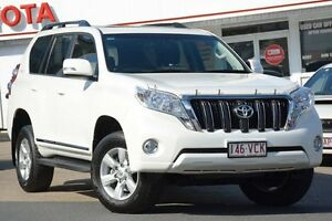 2014 Toyota Landcruiser Prado KDJ150R MY14 Altitude Crystal Pearl 5 Speed Sports Automatic Wagon Woolloongabba Brisbane South West Preview
