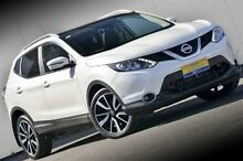 2014 Nissan Qashqai J11 TL White 1 Speed Constant Variable Wagon Ferntree Gully Knox Area Preview