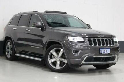 2013 Jeep Grand Cherokee WK MY14 Overland (4x4) Grey 8 Speed Automatic Wagon Bentley Canning Area Preview