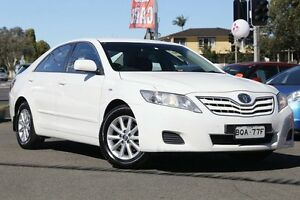 2011 Toyota Camry ACV40R MY10 Altise White 5 Speed Automatic Sedan Liverpool Liverpool Area Preview