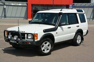 2001 Land Rover Discovery II 01MY Td5 White 4 Speed Automatic Wagon New Lambton Newcastle Area Preview