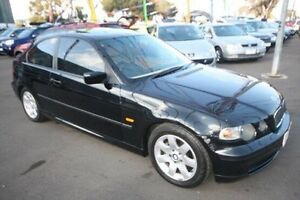 2004 BMW 316TI E46/5 MY04 Steptronic Black 5 Speed Sports Automatic Hatchback Kingsville Maribyrnong Area Preview
