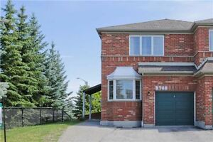Wow!Freshly Painted Beautiful End-Unit Semi-Detached House!