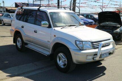2000 Toyota Landcruiser Prado VZJ95R Grande (4x4) White 4 Speed Automatic 4x4 Wagon
