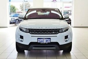 2012 Land Rover Evoque LV SD4 Pure White 6 Speed Automatic Wagon Morley Bayswater Area Preview