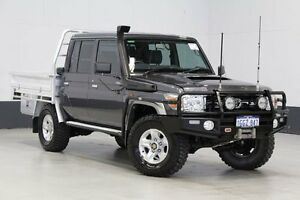 2015 Toyota Landcruiser VDJ79R MY12 Update GXL (4x4) Graphite 5 Speed Manual Double C/Chas Bentley Canning Area Preview