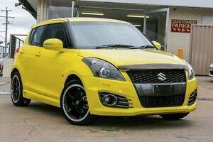 2012 Suzuki Swift FZ Sport Yellow 6 Speed Manual Hatchback Yeerongpilly Brisbane South West Preview