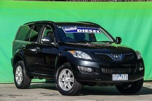 2012 Great Wall X200 K2 MY12 Black 5 Speed Automatic Wagon Ringwood East Maroondah Area Preview
