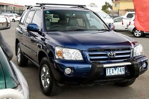 2004 Toyota Kluger MCU28R CVX AWD Cascade Blue 5 Speed Automatic Wagon Preston Darebin Area Preview