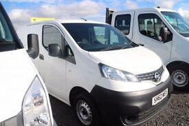 NISSAN NV200 1.5 SE DCI 1d 89 BHP - VIEW 360 SPIN ON WEBSITE (white) 2012