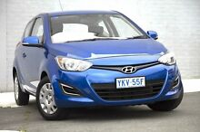 2012 Hyundai i20 PB MY12 Active Blue 5 Speed Manual Hatchback Pearce Woden Valley Preview