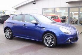 ALFA ROMEO GIULIETTA 2.0 JTDM-2 EXCLUSIVE 5d 150 BHP - 360 SPIN ON WEBS (blue) 2014