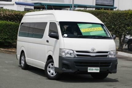 2011 Toyota Hiace KDH223R MY11 Commuter High Roof Super LWB 5 Speed Manual Bus